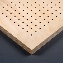 Holz F Perforated Timber Acoustic Panels Ber Deckensysteme
